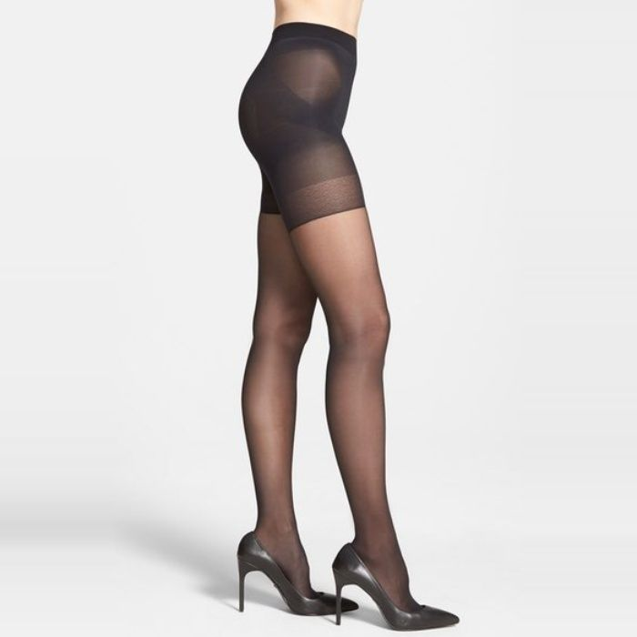 d6aaed7101a The Ten Best Sheer Shaping Hosiery Options - 1 Oroblu Shock Up Shaping  Pantyhose  rankandstyle