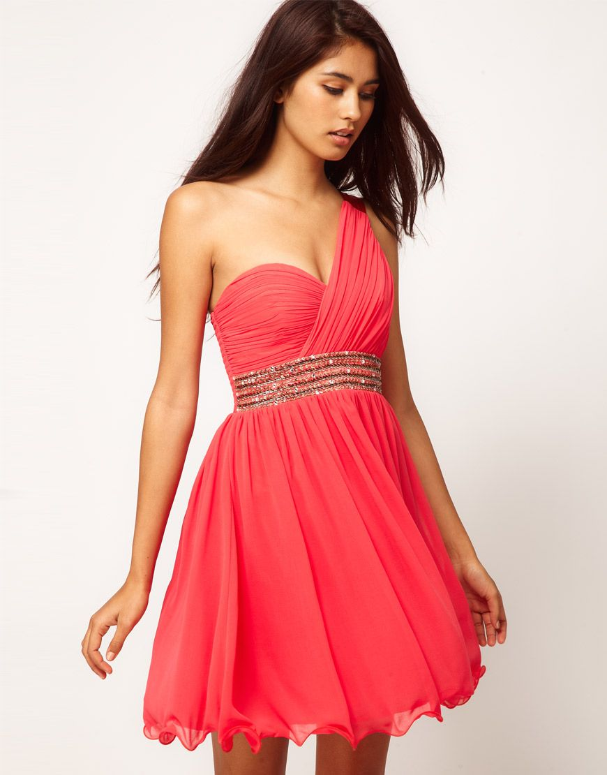 Such a pretty color for wearing pinterest homecoming shoulder