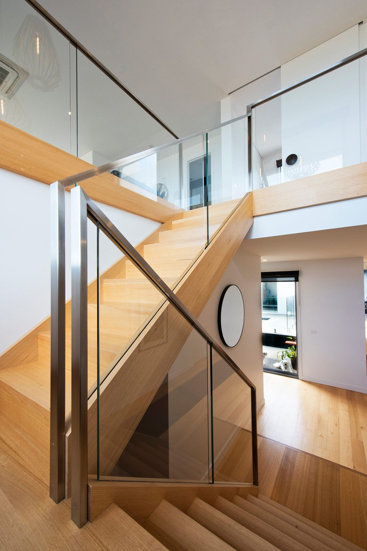 Corrim o de inox 60 modelos dicas e fotos escaleras for Modelos escaleras interiores