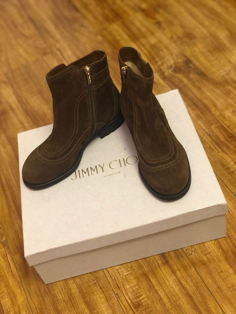 e4077bc7f74 Jimmy Choo Brylee Flat Ankle Boots  fashion  clothing  shoes  accessories   womensshoes  boots (ebay link)