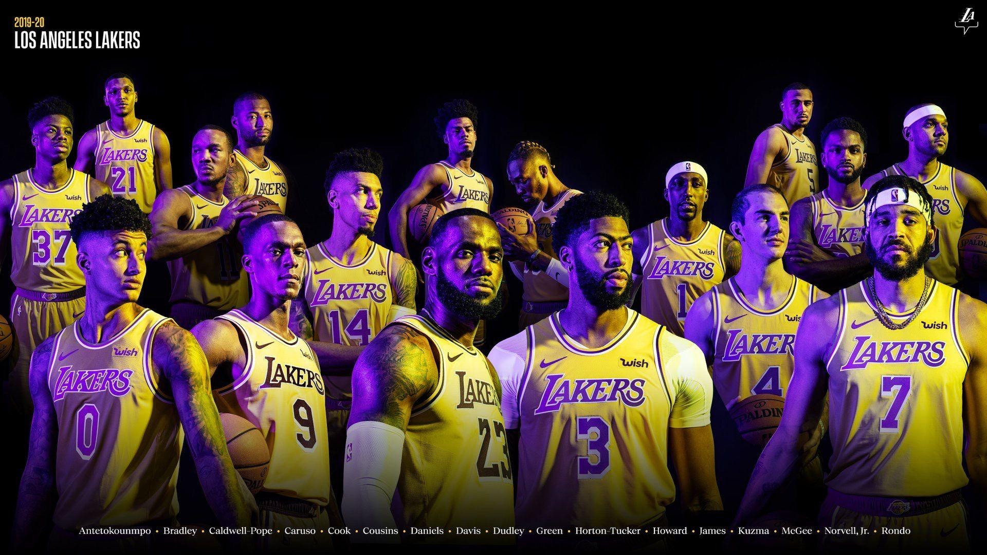 Los Angeles Lakers On Instagram We Re Back Introducing Your 2019 20 Los Angeles Lakers Lakers Wallpaper Los Angeles Lakers Los Angeles Lakers Logo