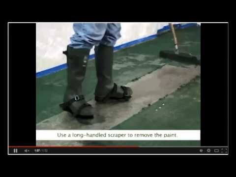 How To Remove Paint Or Sealers Off Concrete Floors Www Sealgreen 800 997 3873