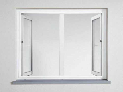 POWERFIX AluInsektenschutzfenster 100 x 120 cm billig
