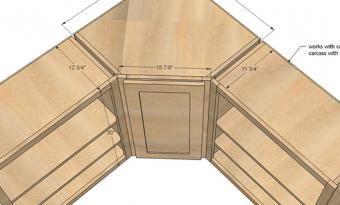 Blind Corner Cabinet Solutions   ShelfGenie