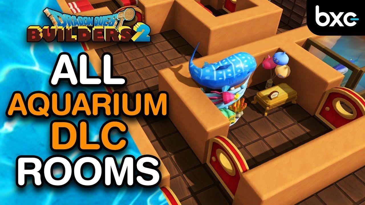 Aquariums How To Build All Aquarium Dlc Room Recipes Dragon Quest Builders 2 Dragon Quest Aquarium Dragon