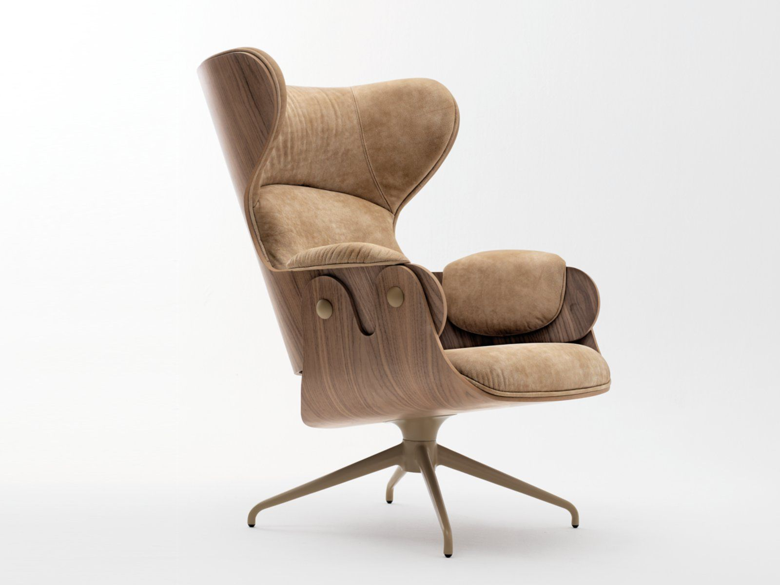 WINGCHAIR LOUNGER SHOWTIME COLLECTION BY BD BARCELONA DESIGN | DESIGN JAIME HAYÓN