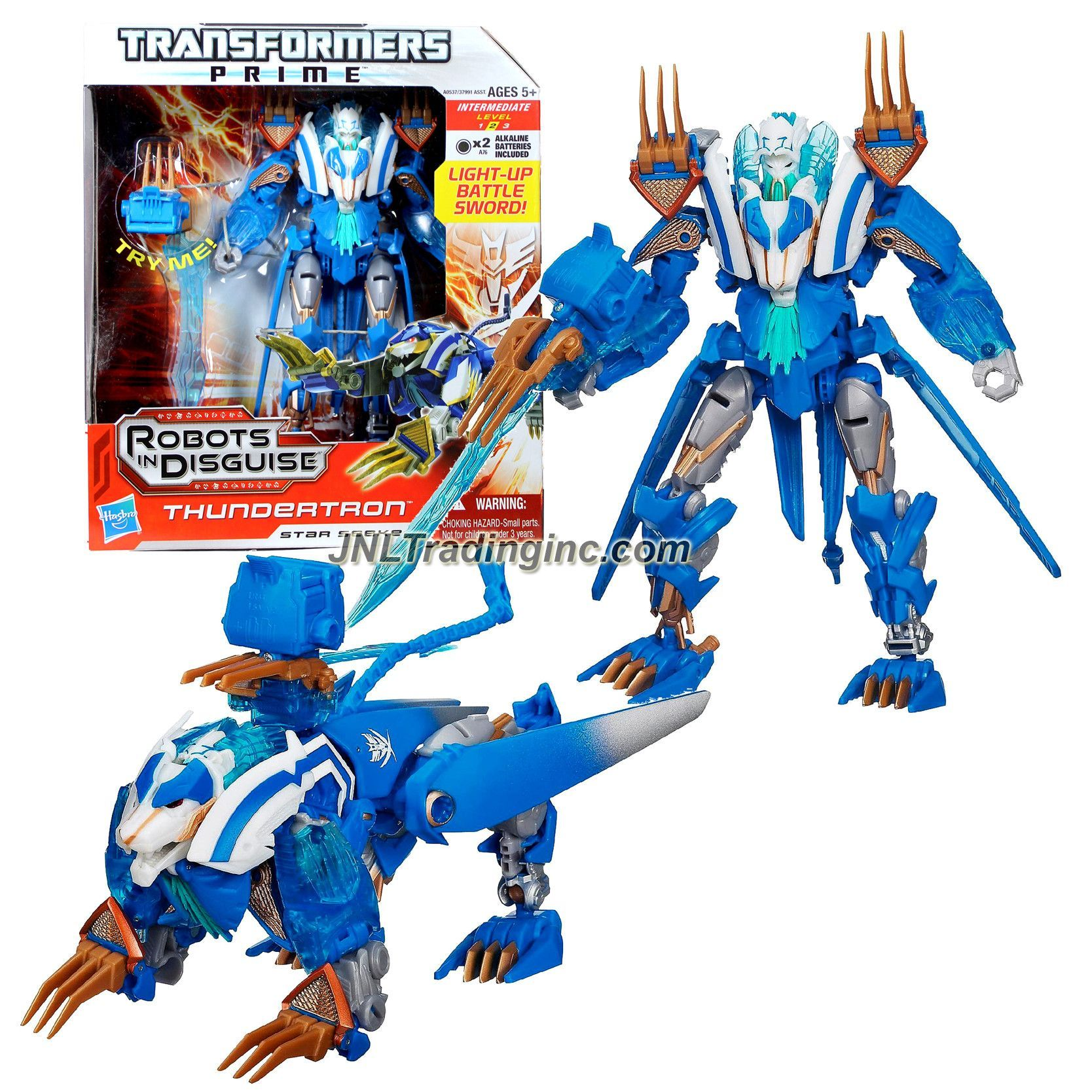 2012 Transformers Prime Robots in Disguise thundertron Star Seeker nouveau