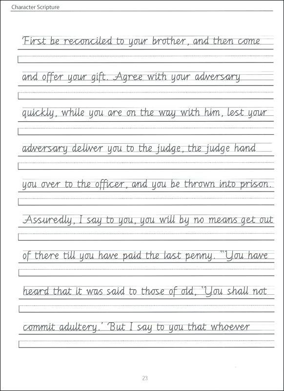 Download Cursive Writing Worksheets