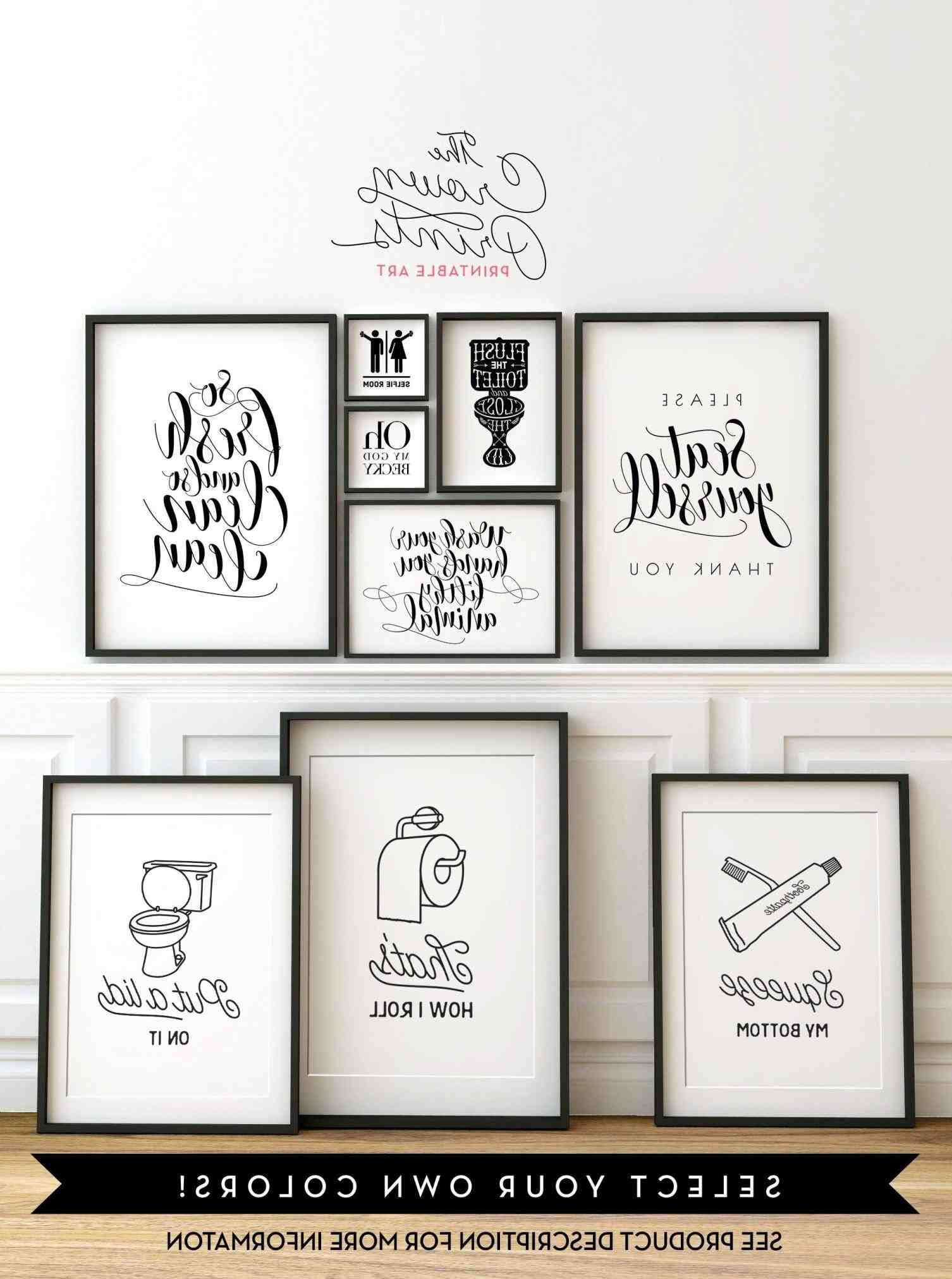 New Post Bathroom Wall Art Words Visit Bobayule Trending Decors