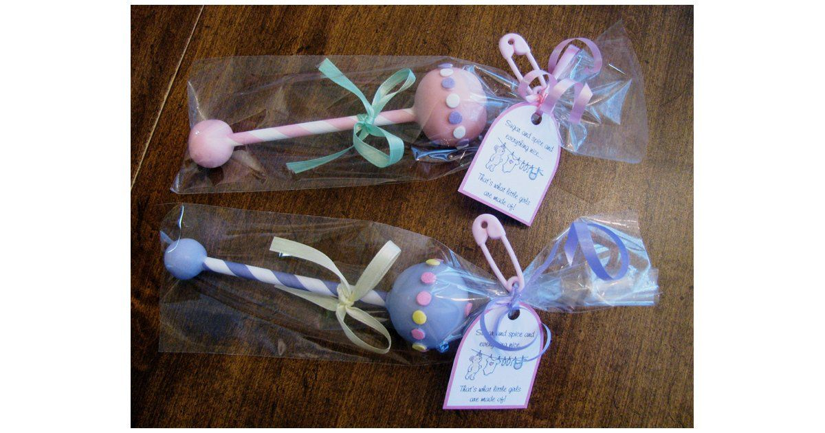 Pop Star 25 Adorable Baby Shower Cake Pops Cake Pop Baby Shower