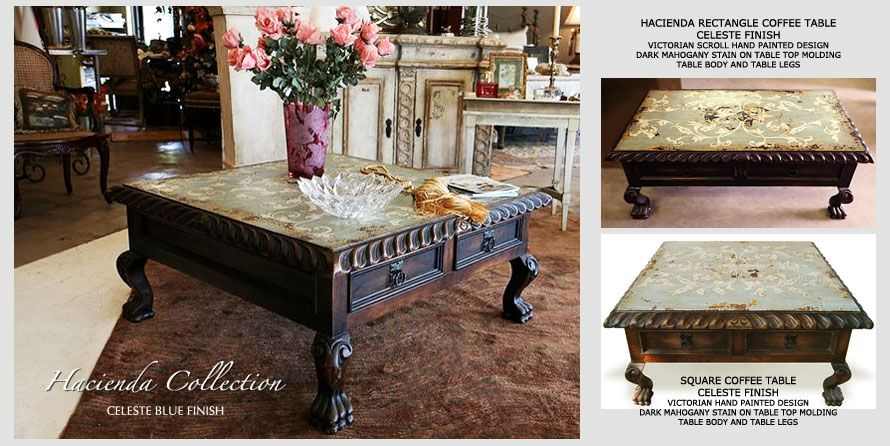 Old World Coffee Tables