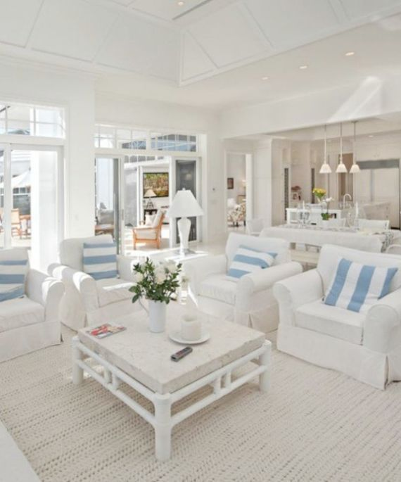How To Decorate Your Home Beautifully Beach House Interior