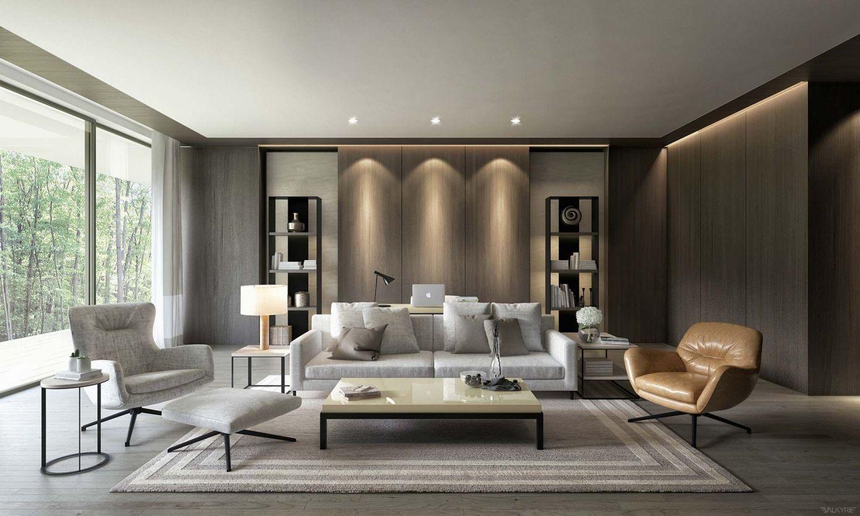 2018 Modern Living Room Interior Designs Best Interior Paint