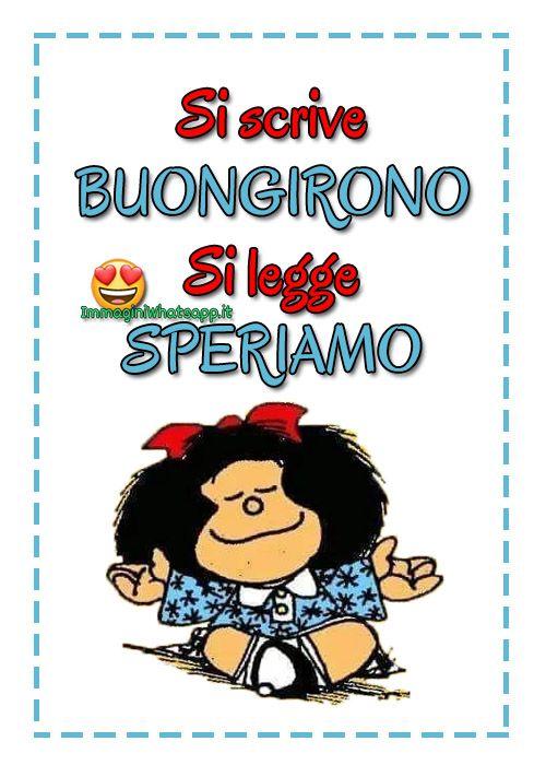 Buongiorno Divertente Con Mafalda Buongiorno Divertente