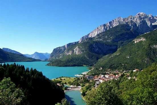 Visited in summer 2015: Trentino - lac molvino