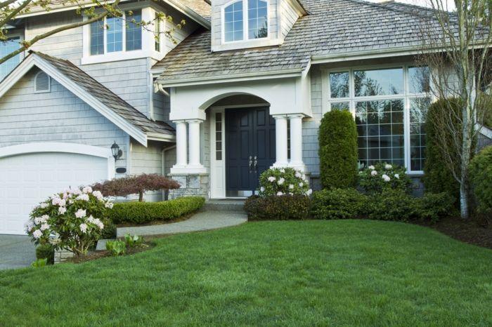 1001 ideen f r vorgartengestaltung im fr hling garten garden pinterest garten vorgarten. Black Bedroom Furniture Sets. Home Design Ideas