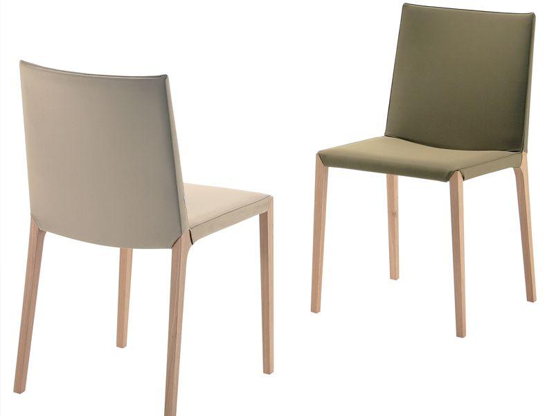 Sedie Zanotta ~ Sedia in cuoio ada by zanotta design roberto barbieri sedie