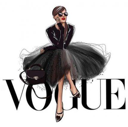 Photo of Fashion Illustration Vogue Paintings 46 New Ideas
