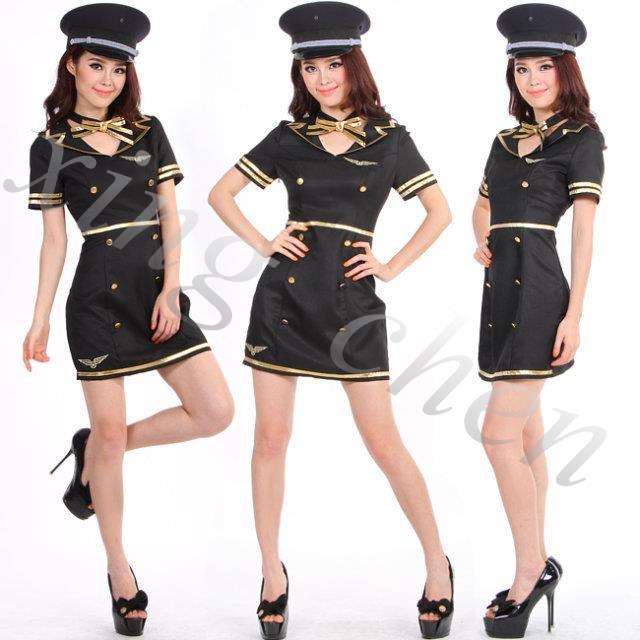 Female captain serving femalemodels navysuit female pilots aviator costumedress clothes studio photo shoot female pilots serving | Crewiser.com