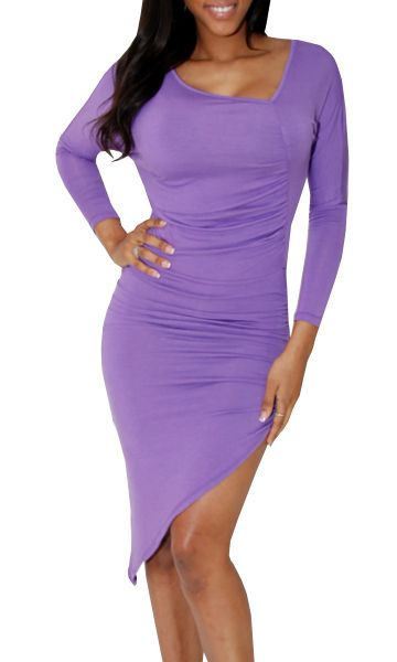 Fabulous: Love everything about this purple dress...WANT WANT WANT!