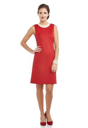 9cbf5b43850 Cato Fashions Pearl Neckline A-Line Dress  CatoFashions
