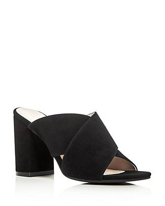 3186a6fe794f Cole Haan Gabby Crisscross Block Heel Slide Sandals
