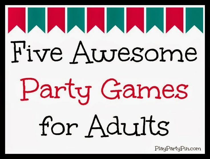 five awesome party games for adults teens and large groups from playpartypincom crafty 2 the corediy galore pinterest party games teen and group - Christmas Party Games For Adults Large Group