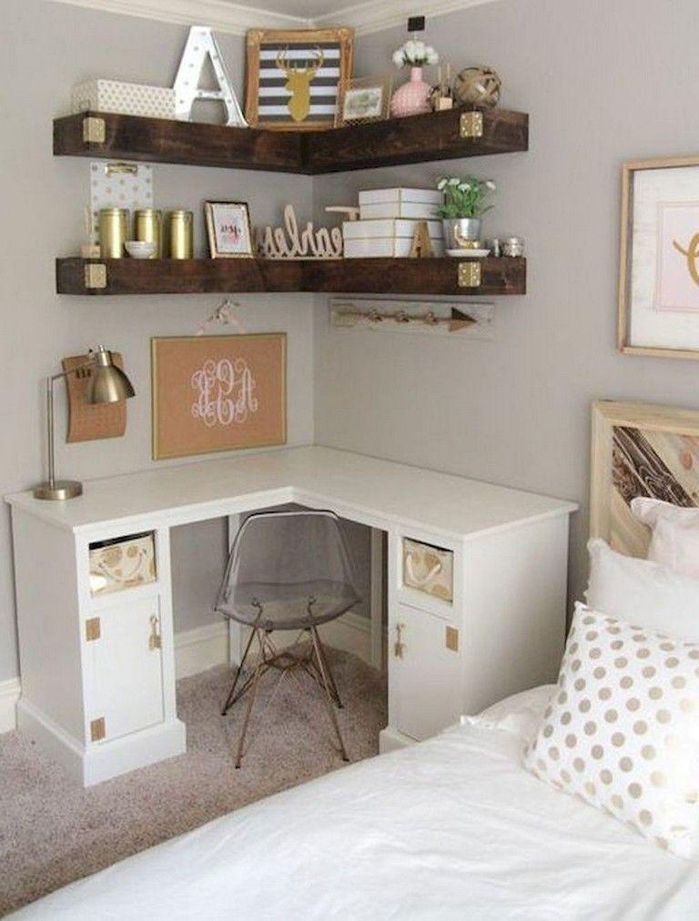 10x10 Girls Bedroom: 117+ Smart Small Apartment Decorating Ideas