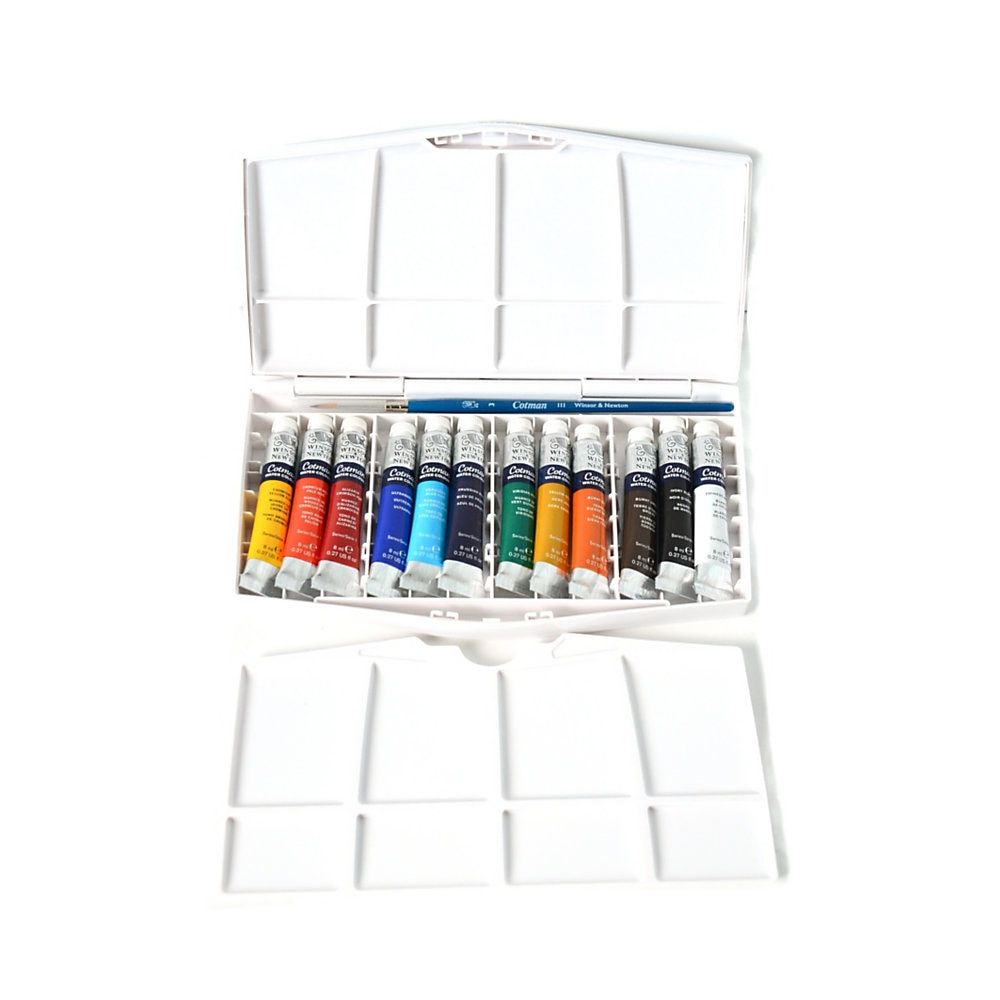 Winsor Newton Cotman Watercolor Painting Plus Tube Set