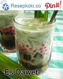 Resep Dawet Aci Kawung Kinca Gula Merah Manis Dan Gurih Makanan Makanan Enak Gula