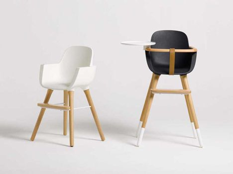 Micuna S Ovo High Chair Spanish Designers Culdesac Have Designed This High Chair With Removable Legs And Accesso High Chair Kids Interior Childrens Furniture