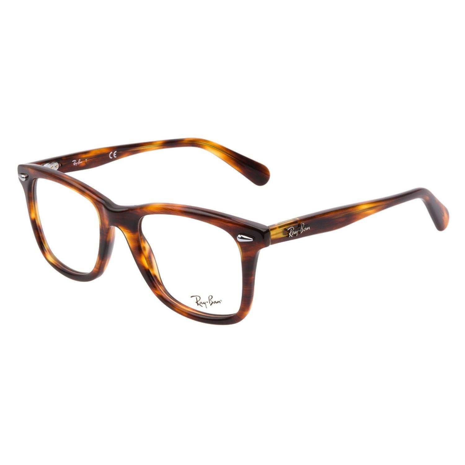 9d2db218311 Ray-Ban RB5317 2144 Tortoise eyeglasses are handsomely sophisticated. This  striking style boasts a lustrous tortoise acetate composition with a large  ...