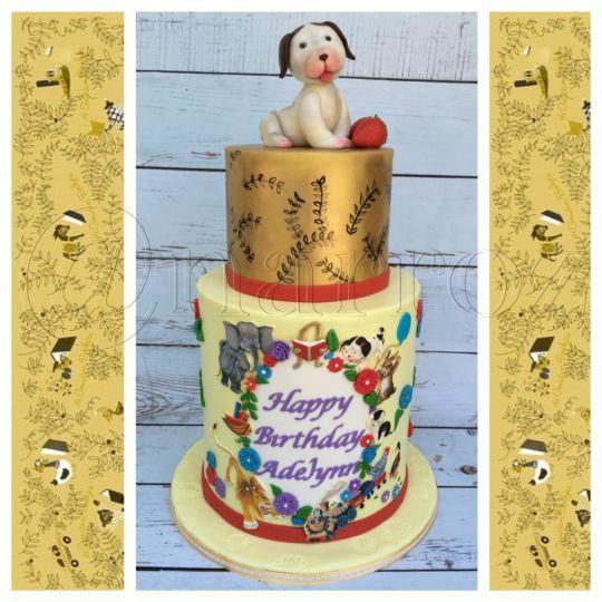 Little golden books cake