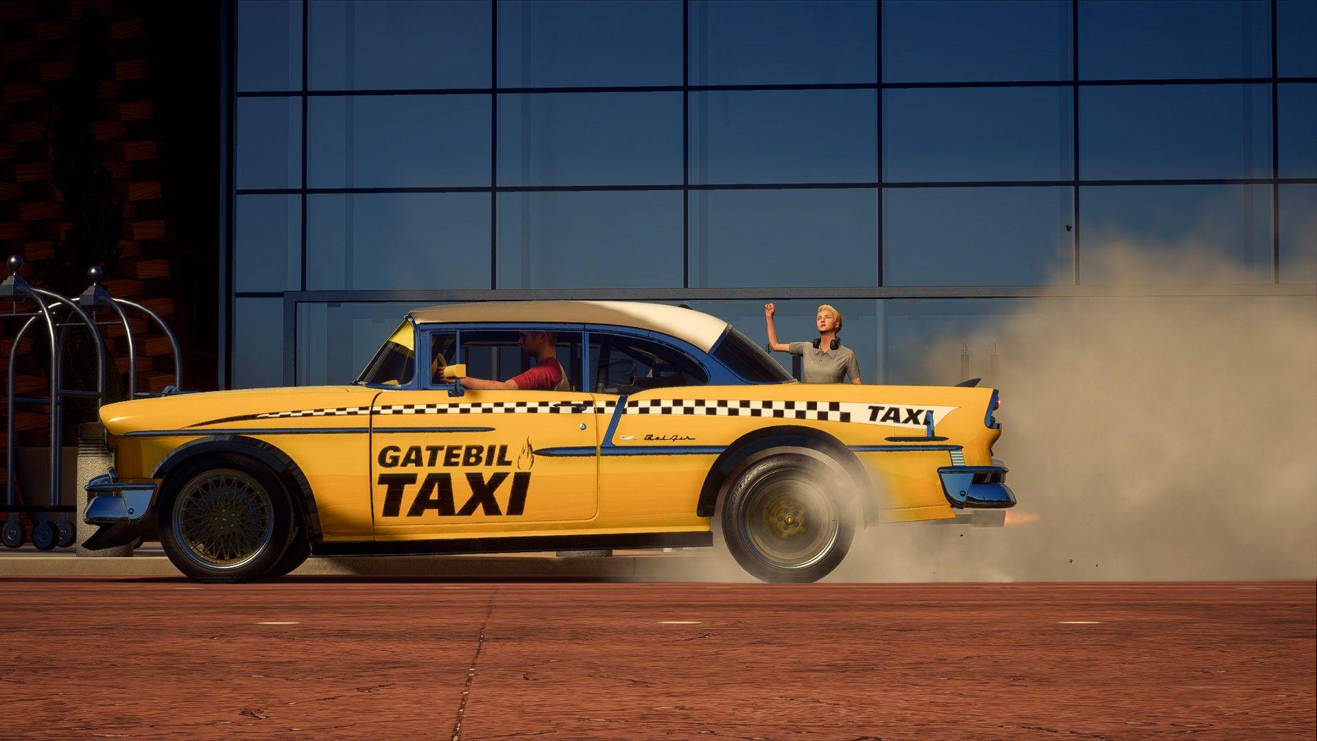 Chevrolet Bel Air Race Spec Taxi 10