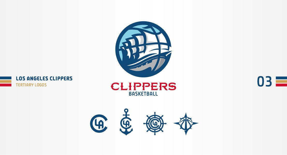 109a4328 Los Angeles Clippers Concept on Behance | Sport logos | Sports logo ...