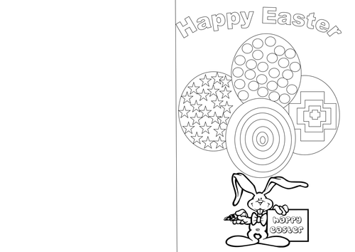 Easter art lesson for ks1