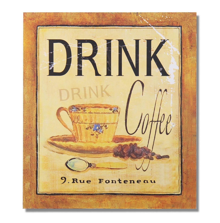 Drink Coffee \