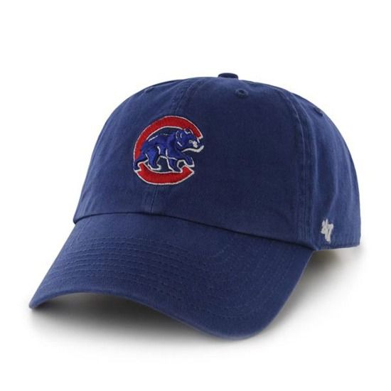 Chicago Cubs Adjustable Royal  Alternate  Logo Cap by  47 Brand  6f565f913cb