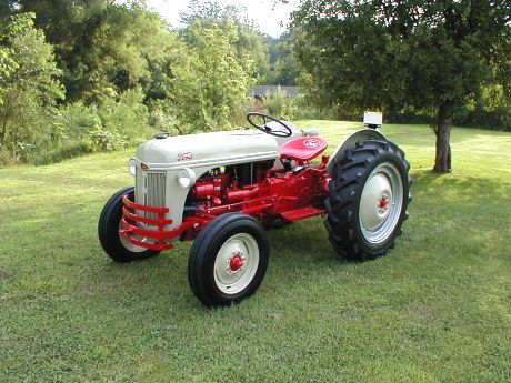 Ford 8n Red Belly Tractor Classic Tractors 8n Ford Tractor