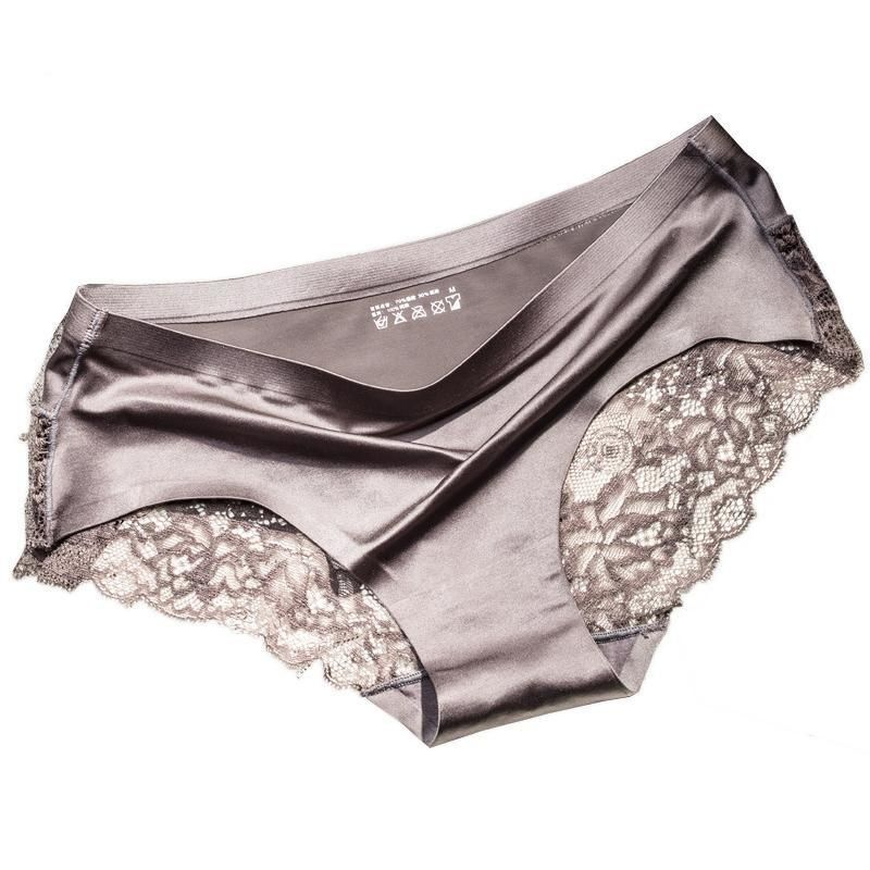 21e18f57900d Womens Fashion Underwear Silky PantiesItem Type: Panties Gender: Women  Decoration: Bow Panties Type: Briefs Obscene Picture: No Pattern Type: Solid  ...