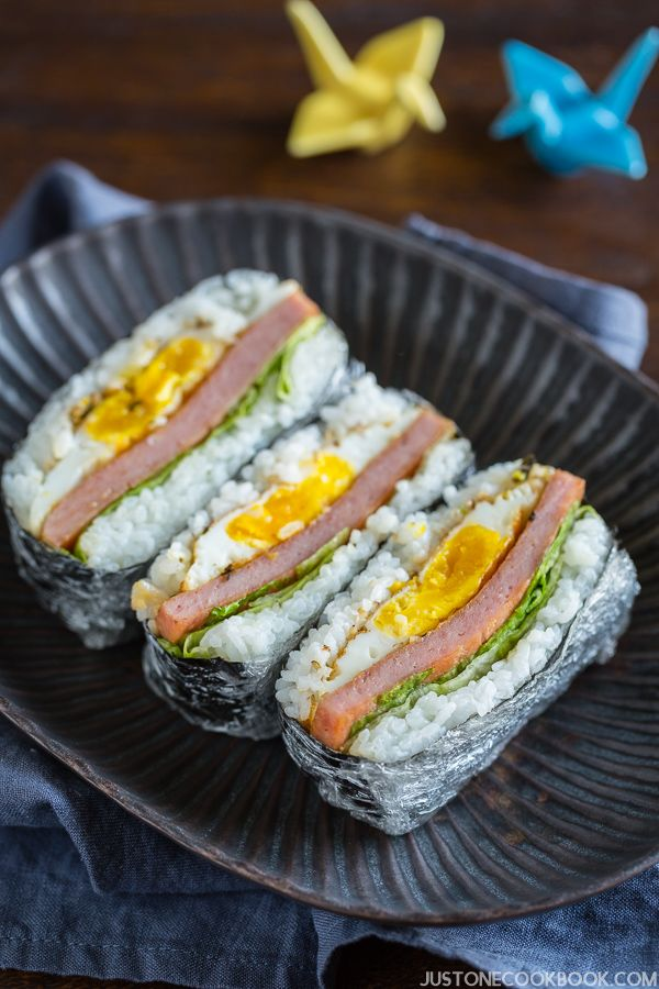 how to make spam musubi rice