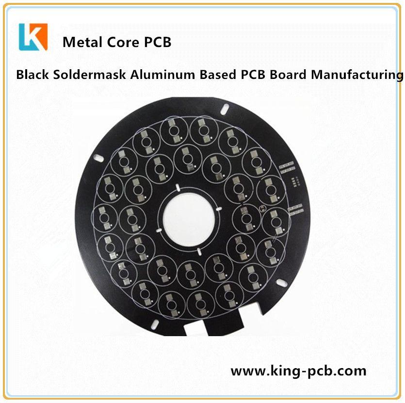 Black Soldermask Aluminum Based Pcb Board Manufacturing Pcb Board Printed Circuit Board