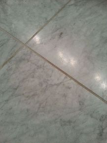 How To Clean Grout On Honed Marble Floor Bathroom Ideas Cleaning Tips Flooring Small Tiling