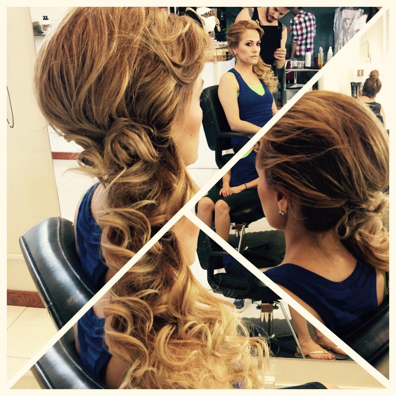 Hair plus makeup ! #alehandro #studiosalon