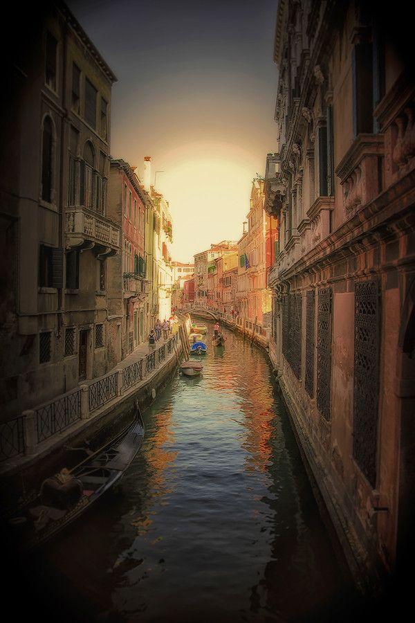 Venice sunset by Michael Zogot on 500px