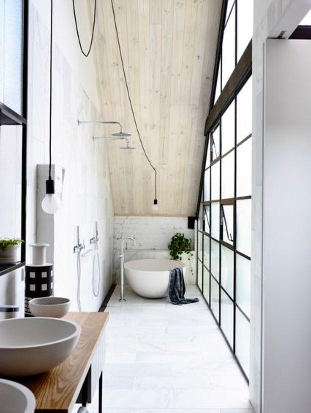 22 Examples Of Minimal Interior Design #39  Minimal Interiors Amazing Loft Bathroom Designs Design Ideas