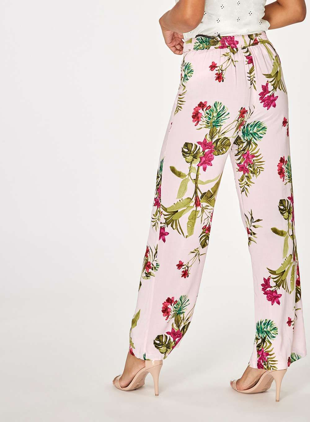 Footlocker Dorothy Perkins Womens Palm Print Palazzo Trousers- Cheap Sale With Paypal Low Cost Cheap Price Outlet Release Dates MIrAb
