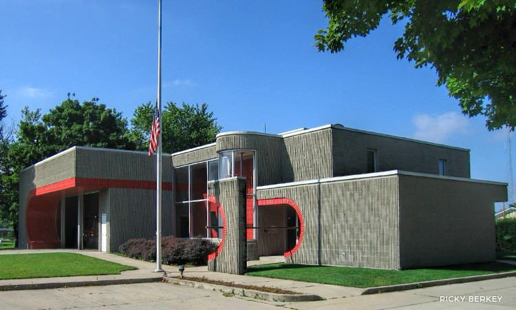 Columbus Fire Stations by the likes of Venturi, Rawn, Torre