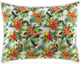 Tommy Bahama Home Parrot Cove Cotton Quilted King Sham - $40.99