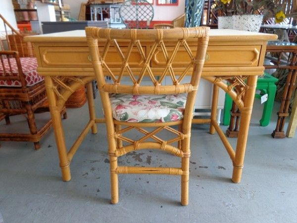 RATTAN Ficks Reed Desk for the Guest :) | CIRCA WHO New Arrivals ...